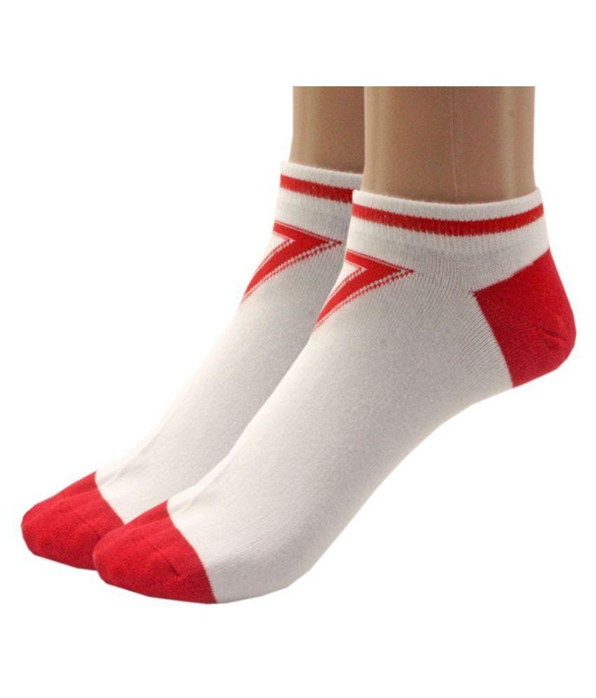 Jm Multi Casual Ankle Length Socks Pack of 2