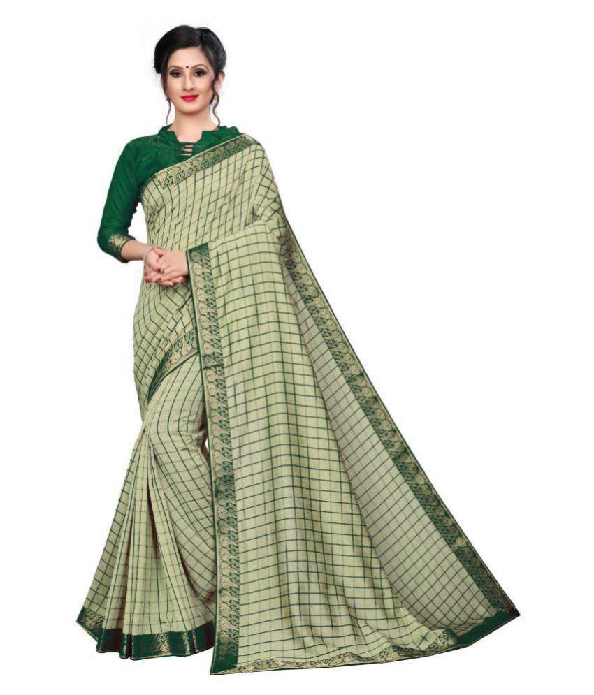 ofline selection Green Silk Saree