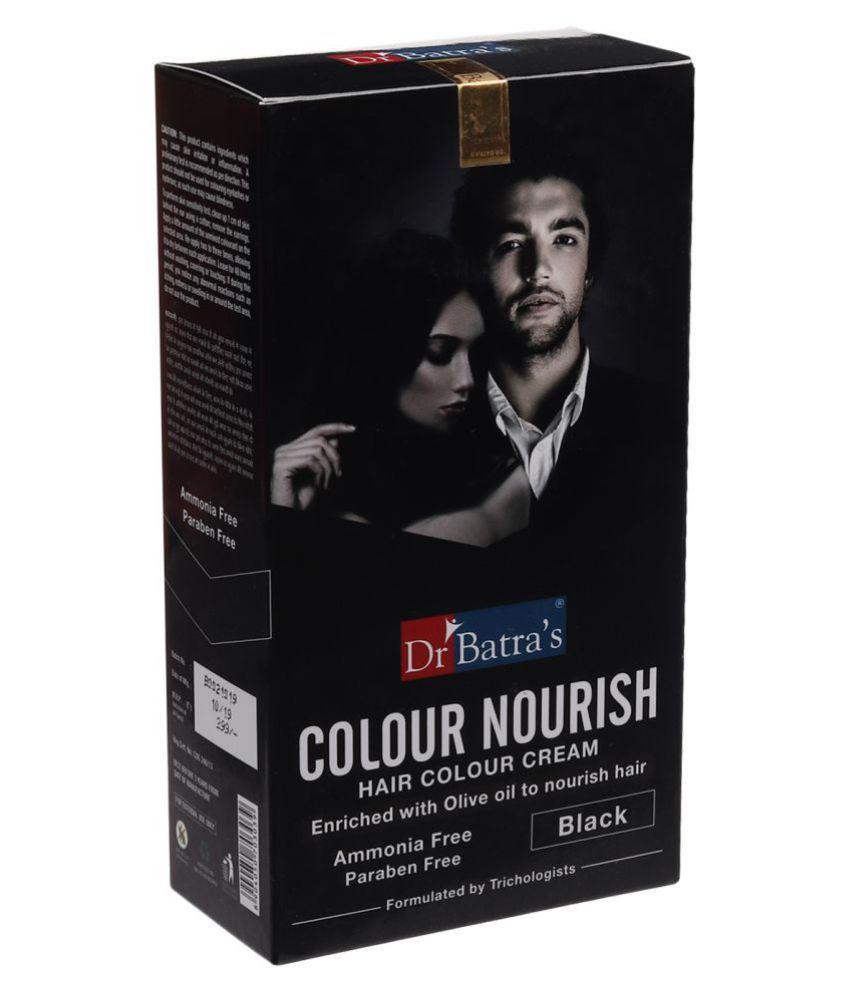Dr Batra's Colour Nourish Hair Permanent Hair Color Black 120 g