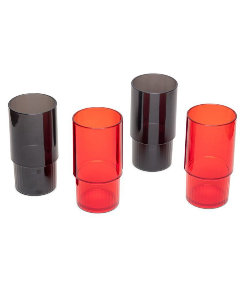 Tupperware Polycarbonate 400 ml Glasses