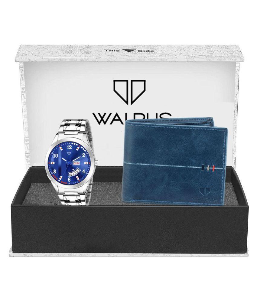 Walrus WWWC COMBO76 Leather Analog Men #039;s Watch