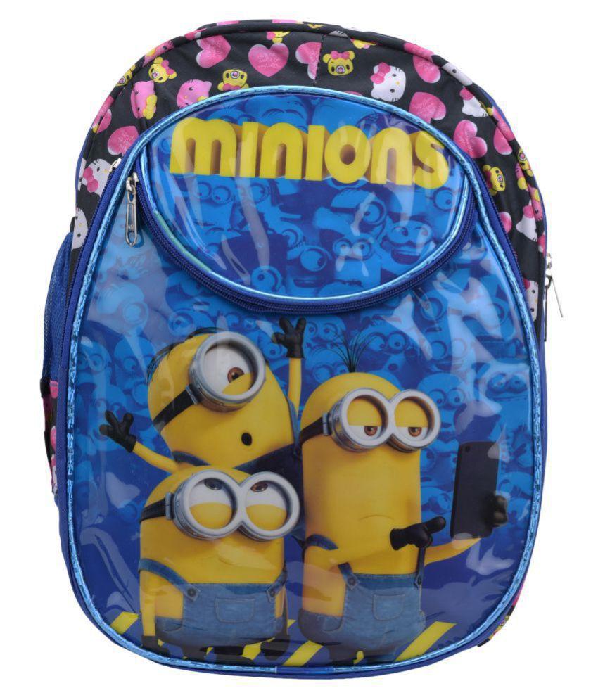 Hamston Blue School Bag for Boys & Girls