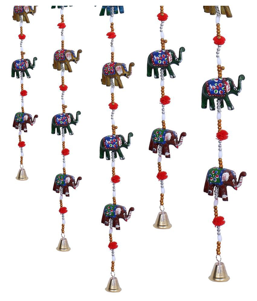 Fashion Art WALL HANGINGS Paper Mache Rod Indoor Windchime Pack of 1
