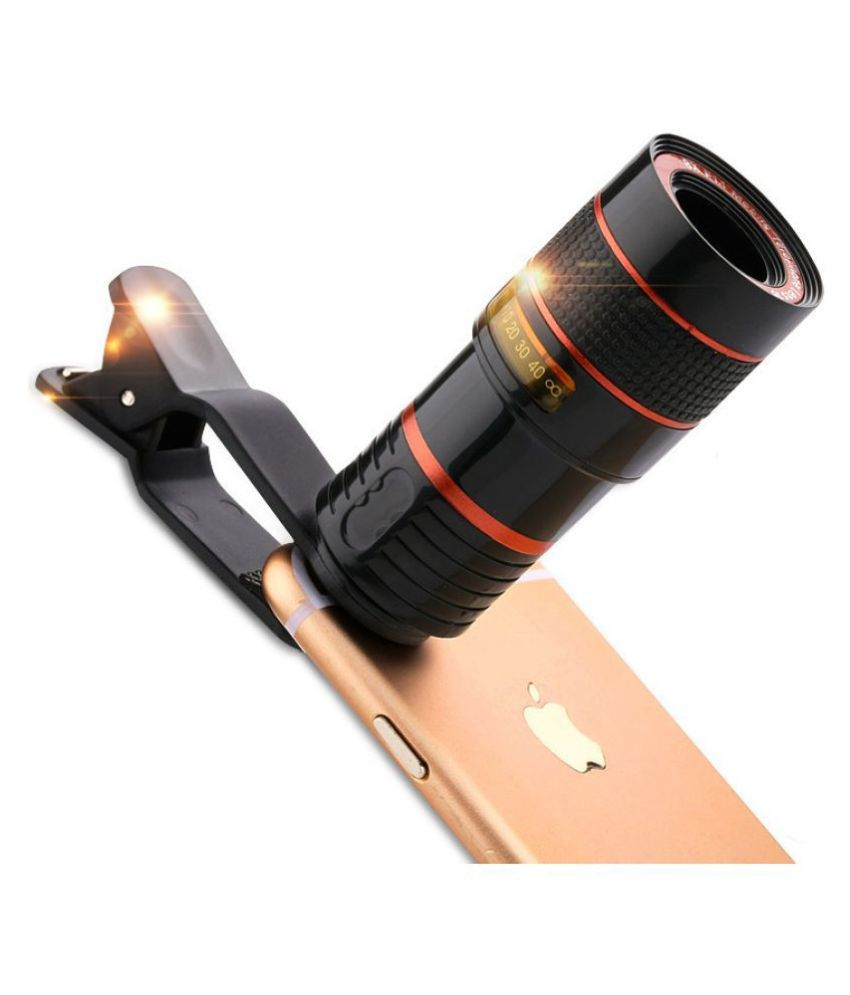 Phone Telescope Low Price Universal Clip on 8X Optical Zoom HD Monocular Telescope Camera Lens For Mobilephone Tablet