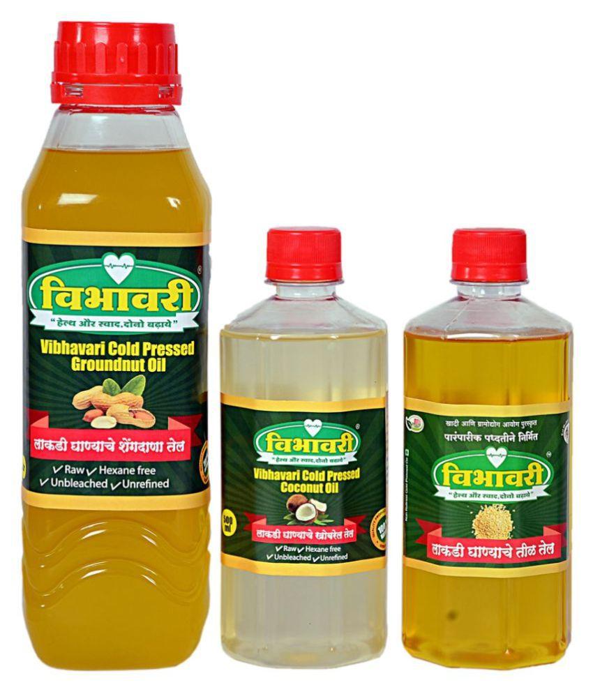 Vibhavari Seed oil 2 L Pack of 3