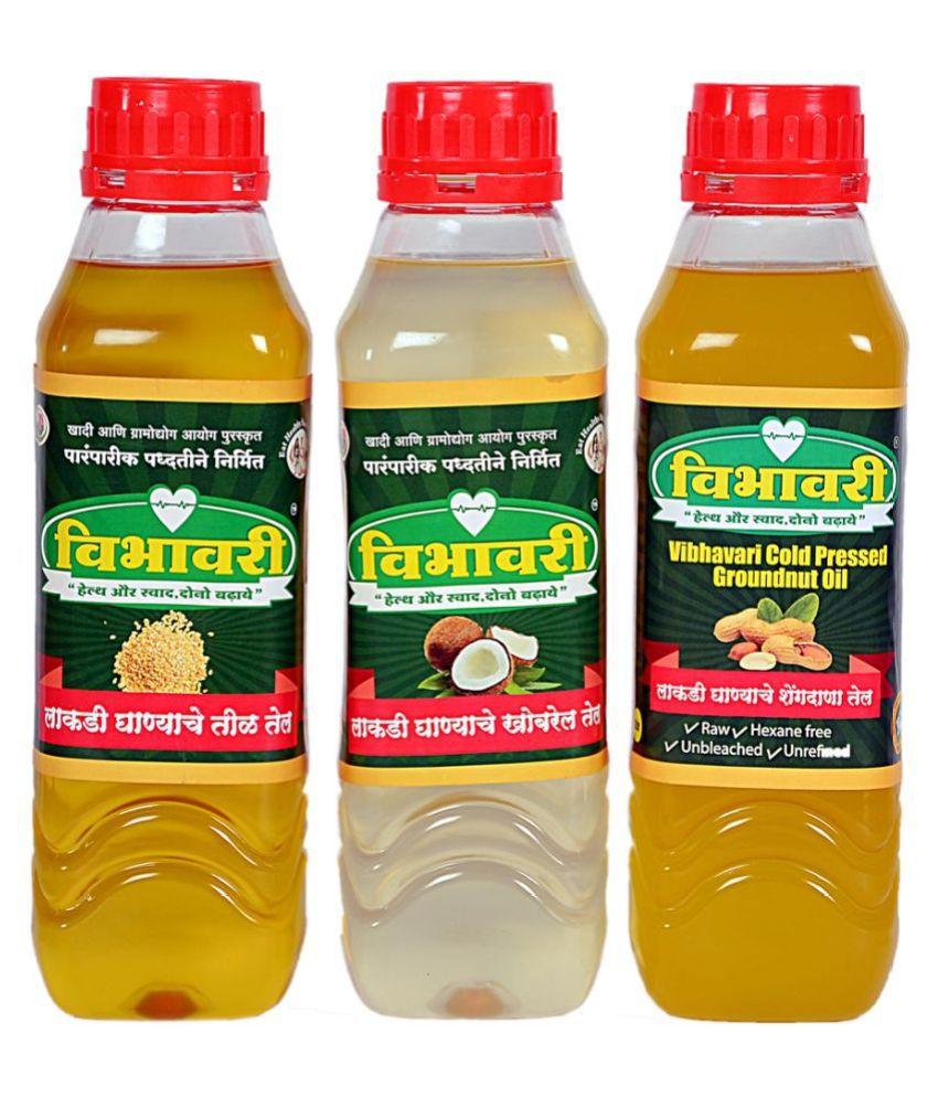 Vibhavari Seed oil 3 L Pack of 3