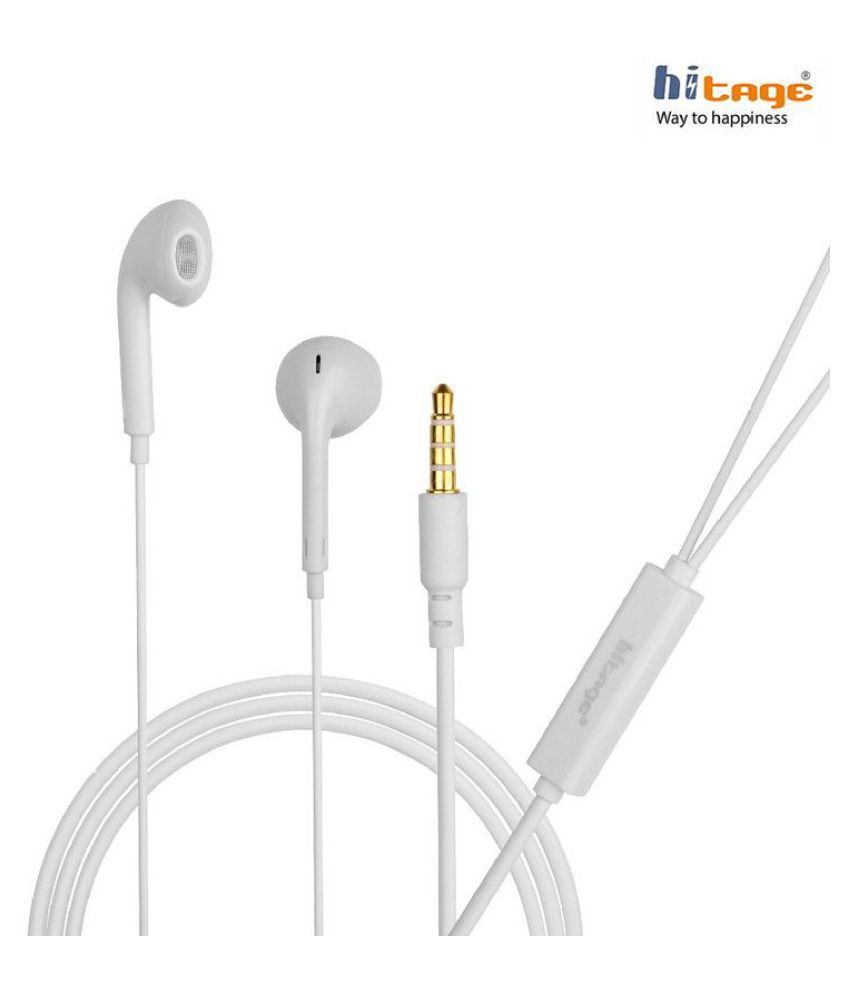 hitage HP -331 (MicroBirdss) For Opp_o Viv_o mi In Ear Wired With Mic Headphones/Earphones