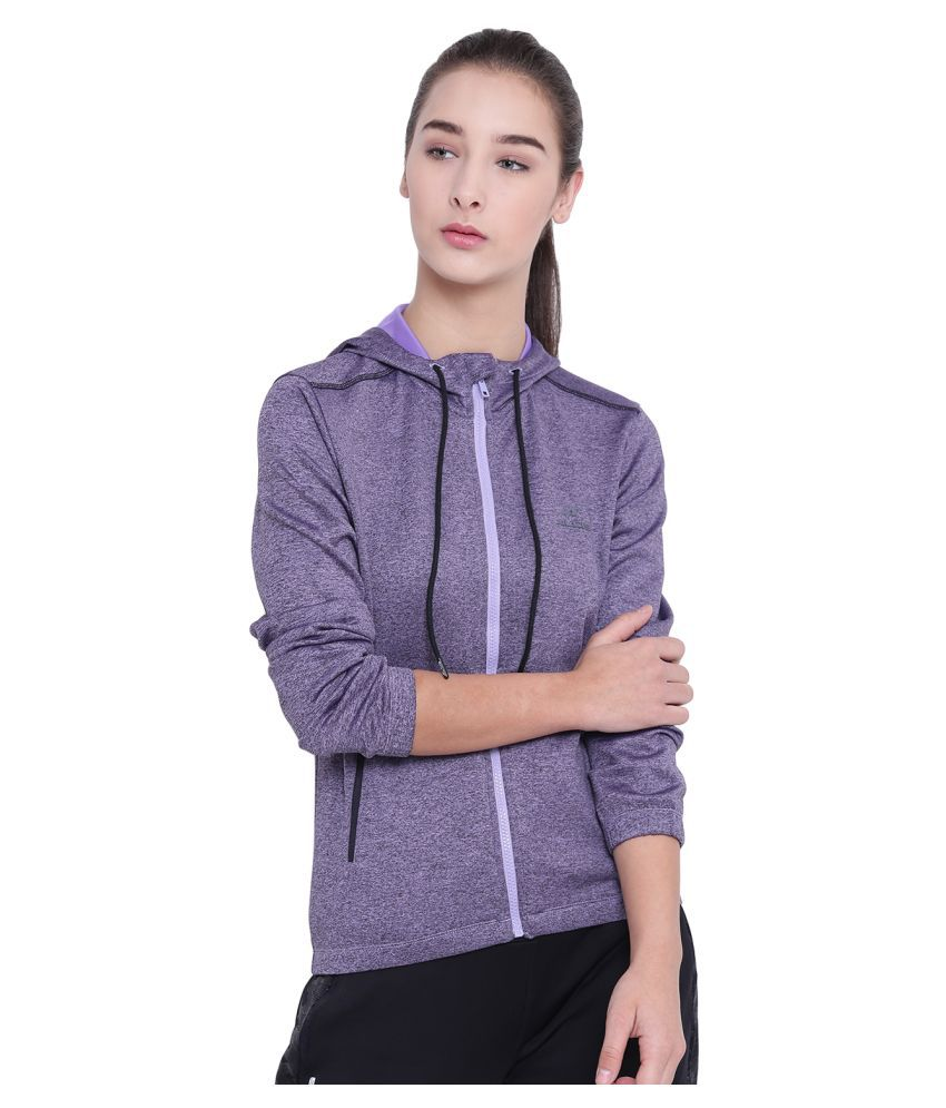 Alcis Polyester Purple Jackets