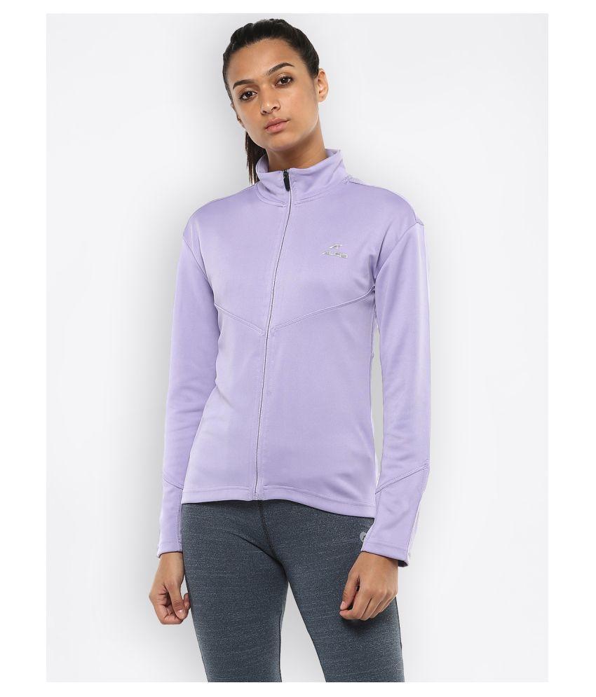 Alcis Polyester Purple Jackets