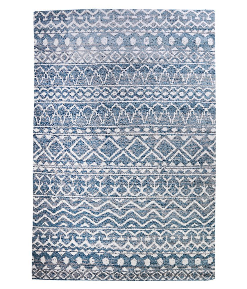 Obsessions Multi Polypropylene Carpet Abstract 2x4 Ft