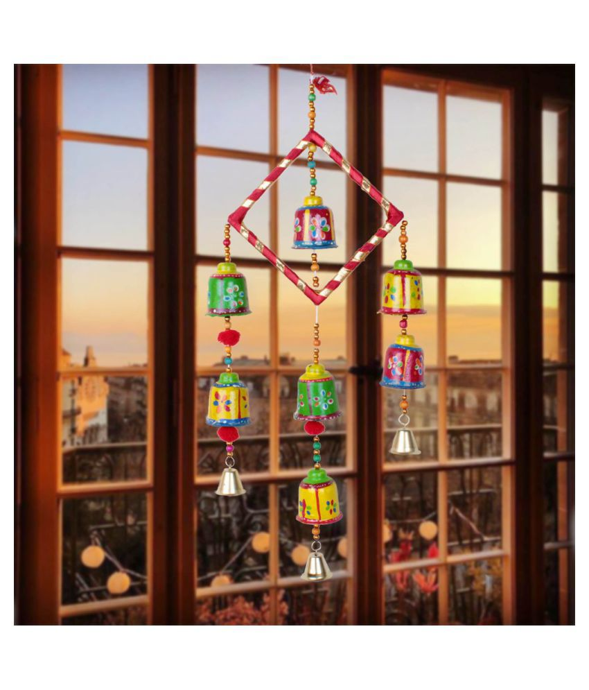 Fashion Art WALL HANGING Paper Mache Rod Indoor Windchime Pack of 1