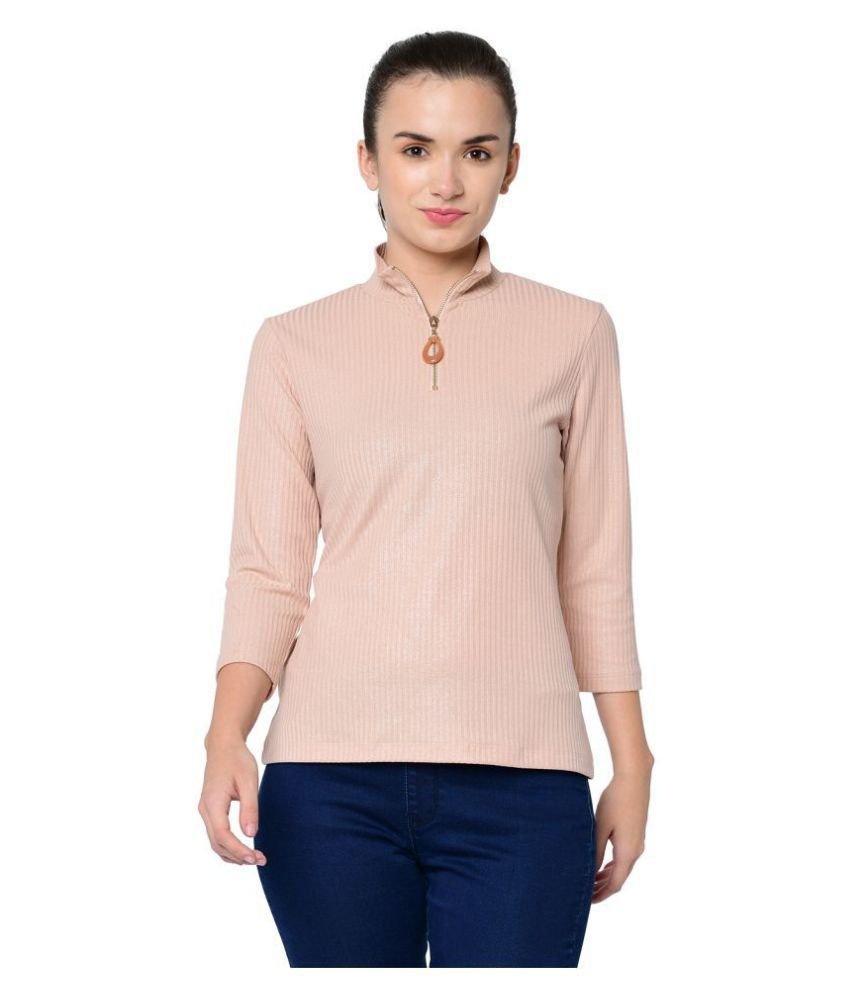 2Bme Polyester Pink T-Shirts