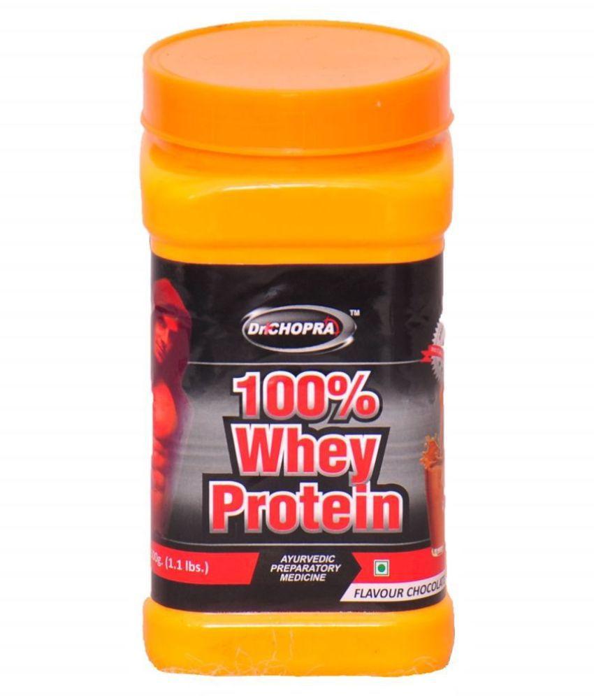 Ayurveda Cure 100% Whey Protein 500 gm Mass Gainer Powder