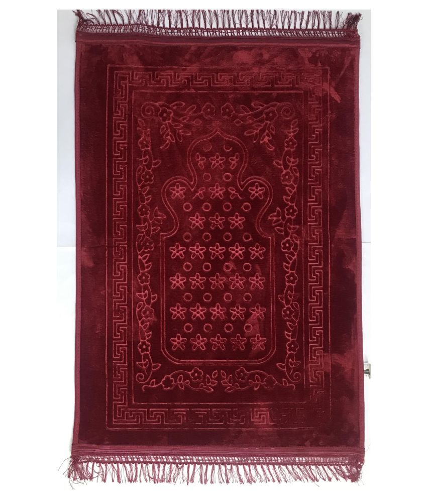 The House Red Single Anti-skid Prayer Mat