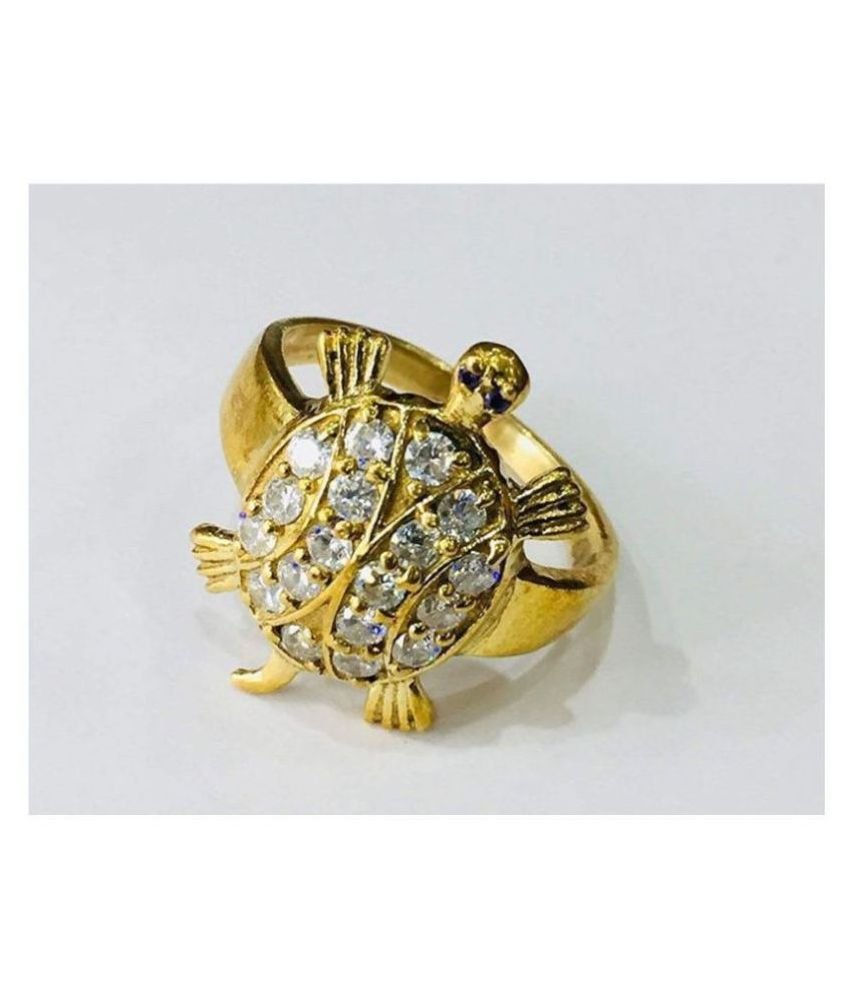 PS CREATIONS`Kachua Tortoise Ring for Men and Women