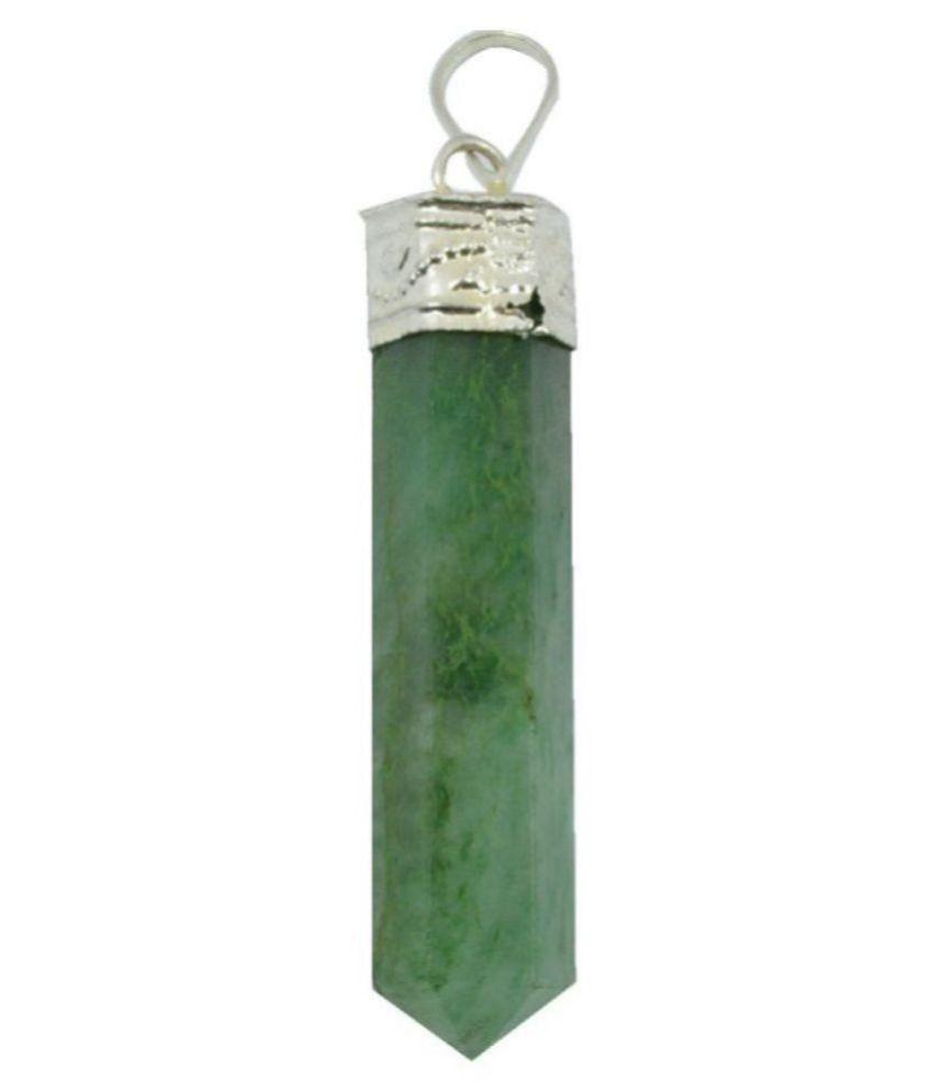 Green Aventurine Natural Agate Stone Pencil Pendant