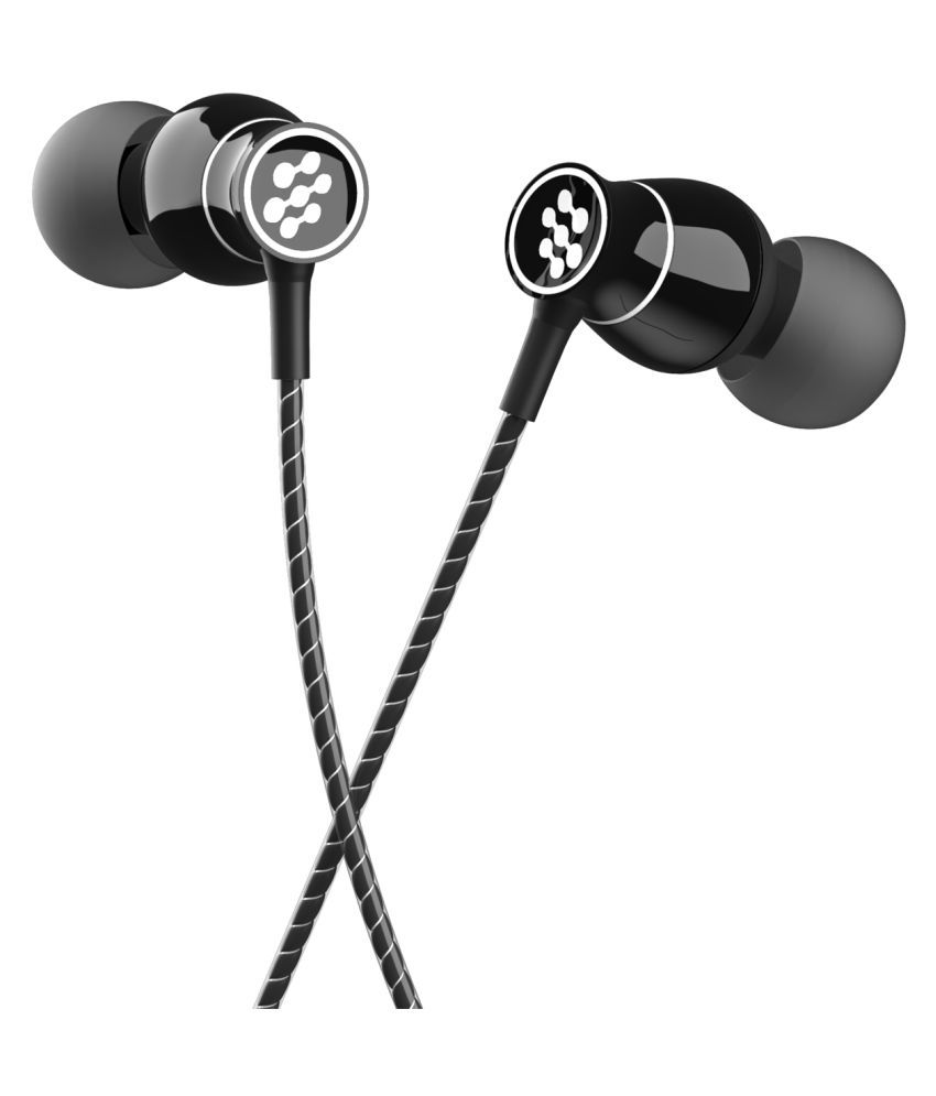 Florid Bass Machine 009 In Ear Wired With Mic Headphones/Earphones