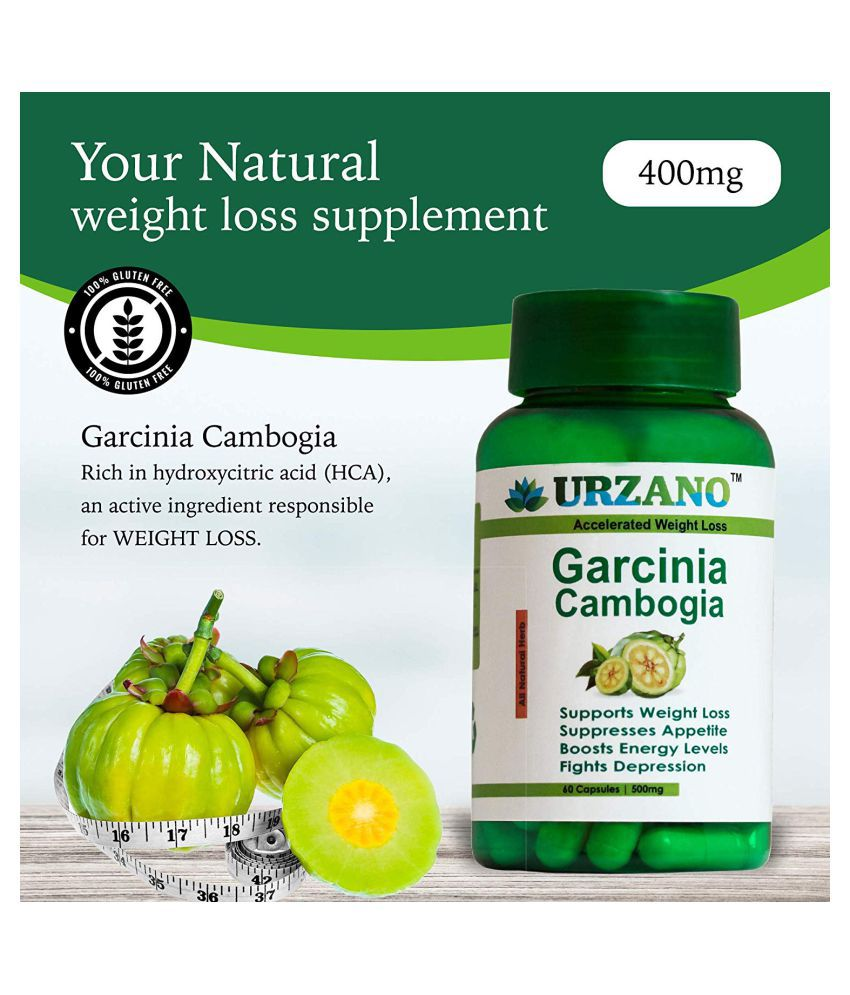 AuroHealth GARCINIA CAMBOGIA FOR WEIGHT LOSS SUPPLEMENT FOR MAN &WOMAN PURE NATUAL 500 mg Unflavoured Single Pack