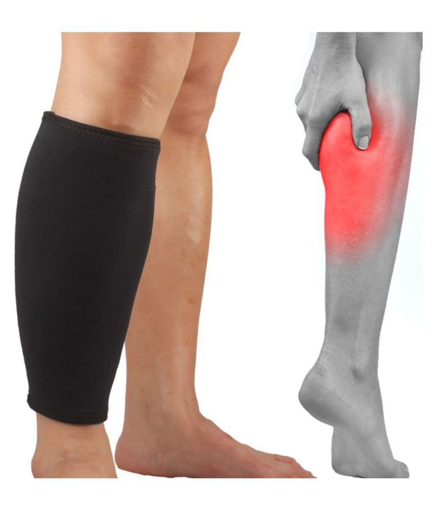 SJ 1 X Calf Muscle Joint Muscle Calf Support Free Size