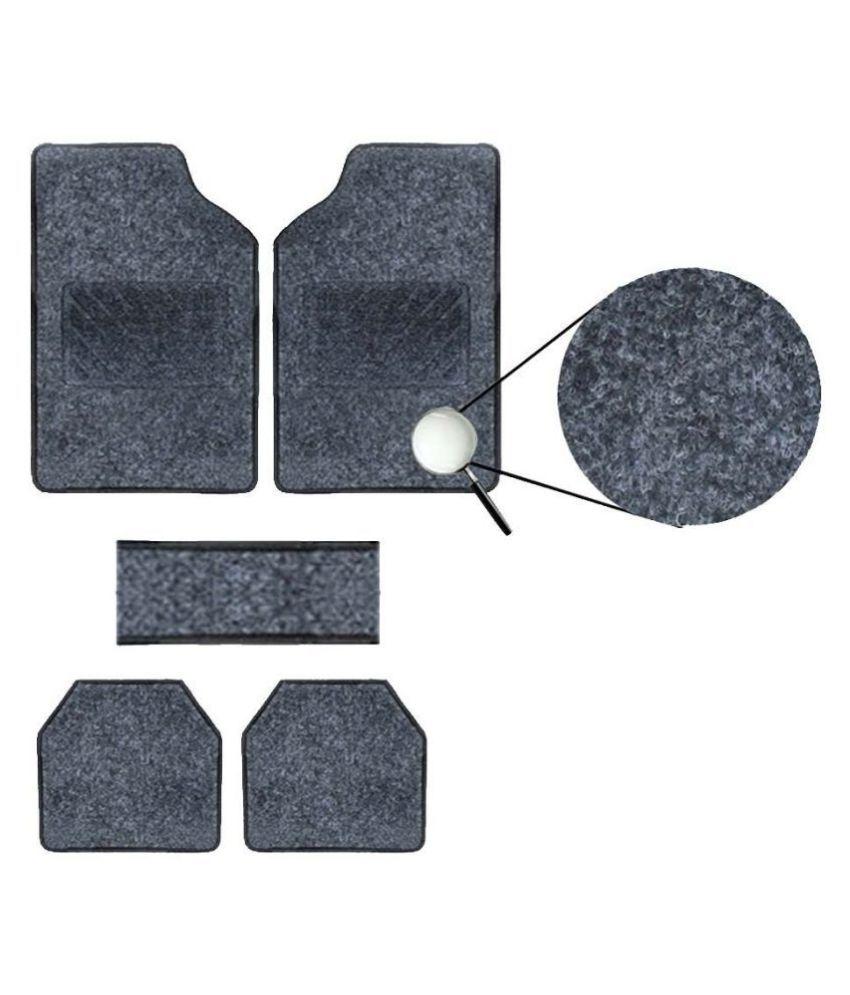 Autofetch Carpet Car Floor/Foot Mats (Set of 5) Black for Maruti A Star
