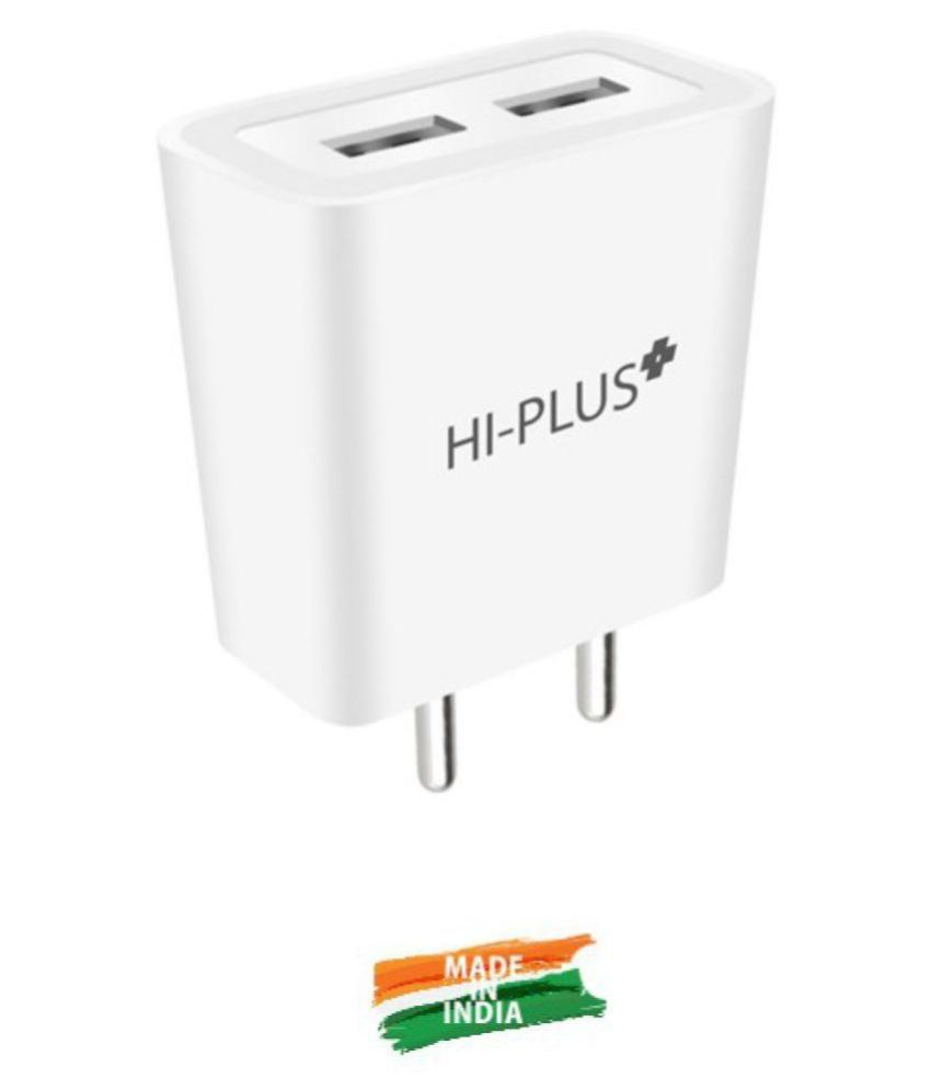HI Plus 3.4A Travel Charger