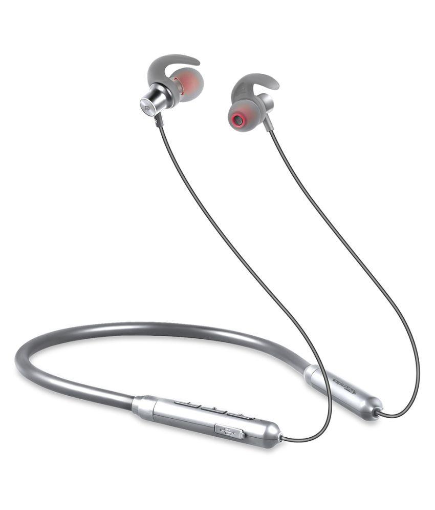 Portronics Harmonics X Wireless Bluetooth Headset Neckband Wireless With Mic Headphones/Earphones