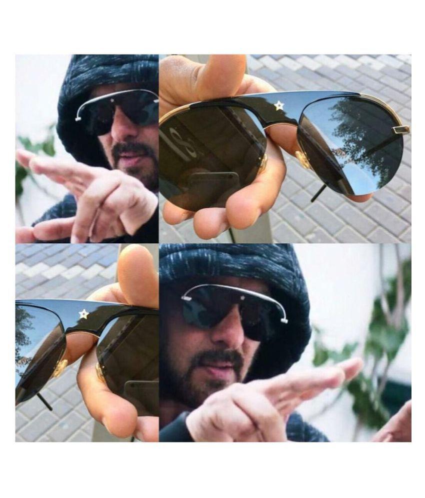 RESIST - Black Aviator Sunglasses ( SWAG BLACK )