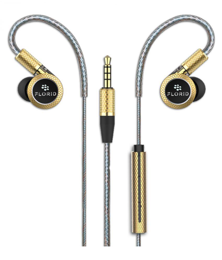 Florid Phoenix 2020 In Ear Wired With Mic Headphones/Earphones