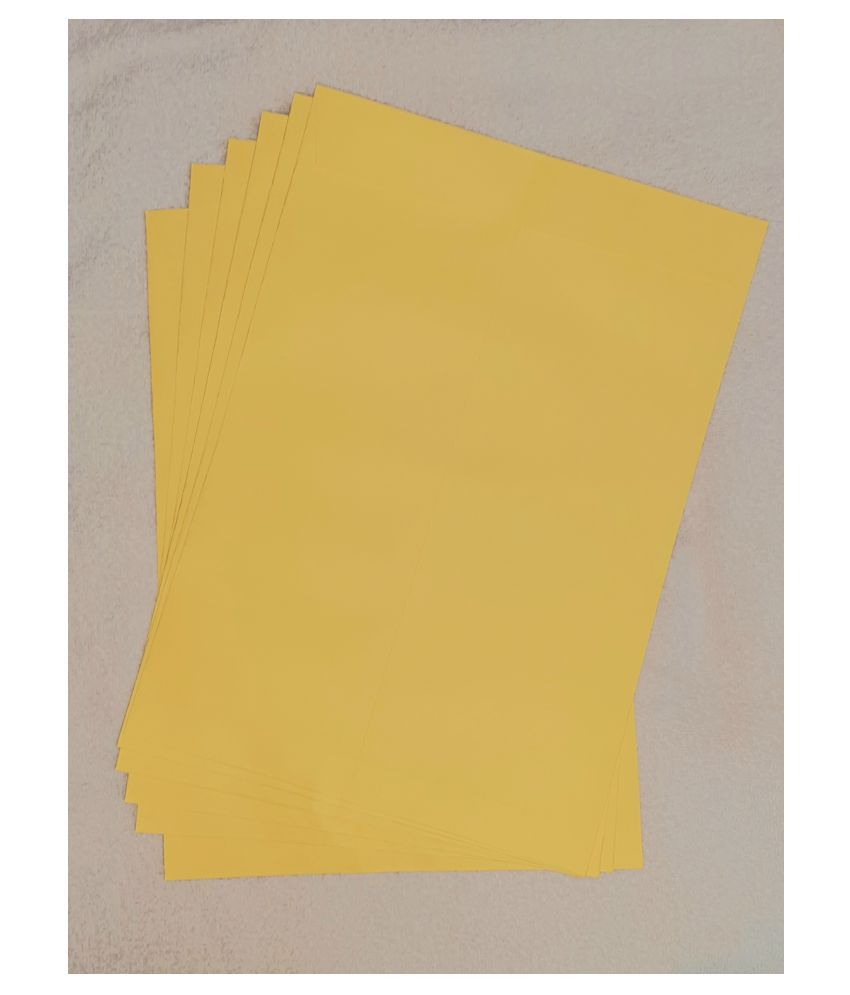 Athar Yellow Business/Documents Envelopes [100 GSM] 10x12 Inches