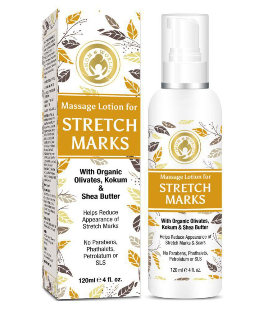 Mom & World Massage Lotion For Stretch Marks Lotion