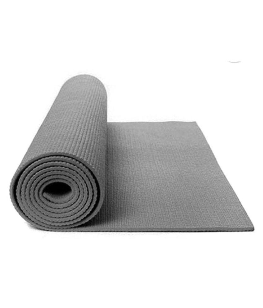 HomeStore-YEP Fitness Non Slip Yoga Mat for Home, Gym, Workout Etc 173cm x 61cm for Men & Women 4mm Thick Grey