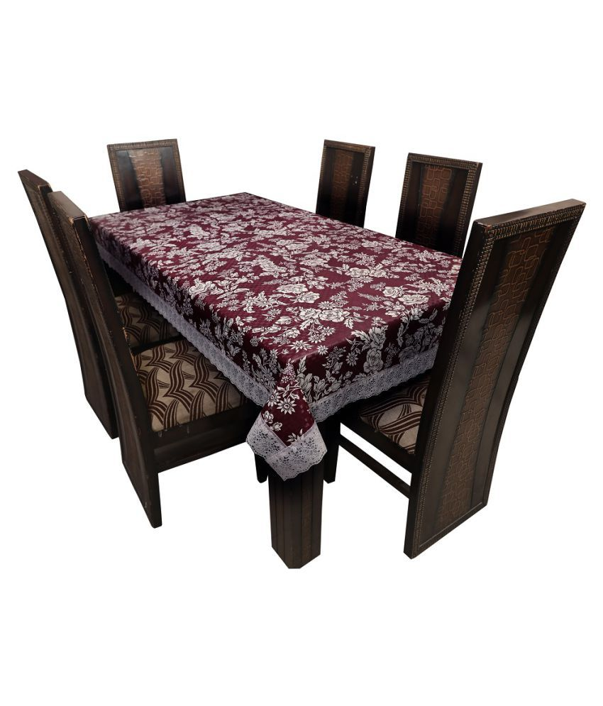 JMD Internatioanl 8 Seater PVC Single Table Covers