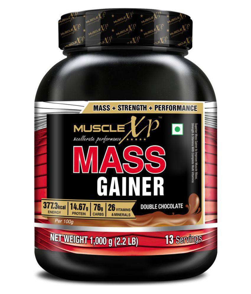 MuscleXP  Mass gainer- with 26 Vitamins & Minerals  1 kg Mass Gainer Powder