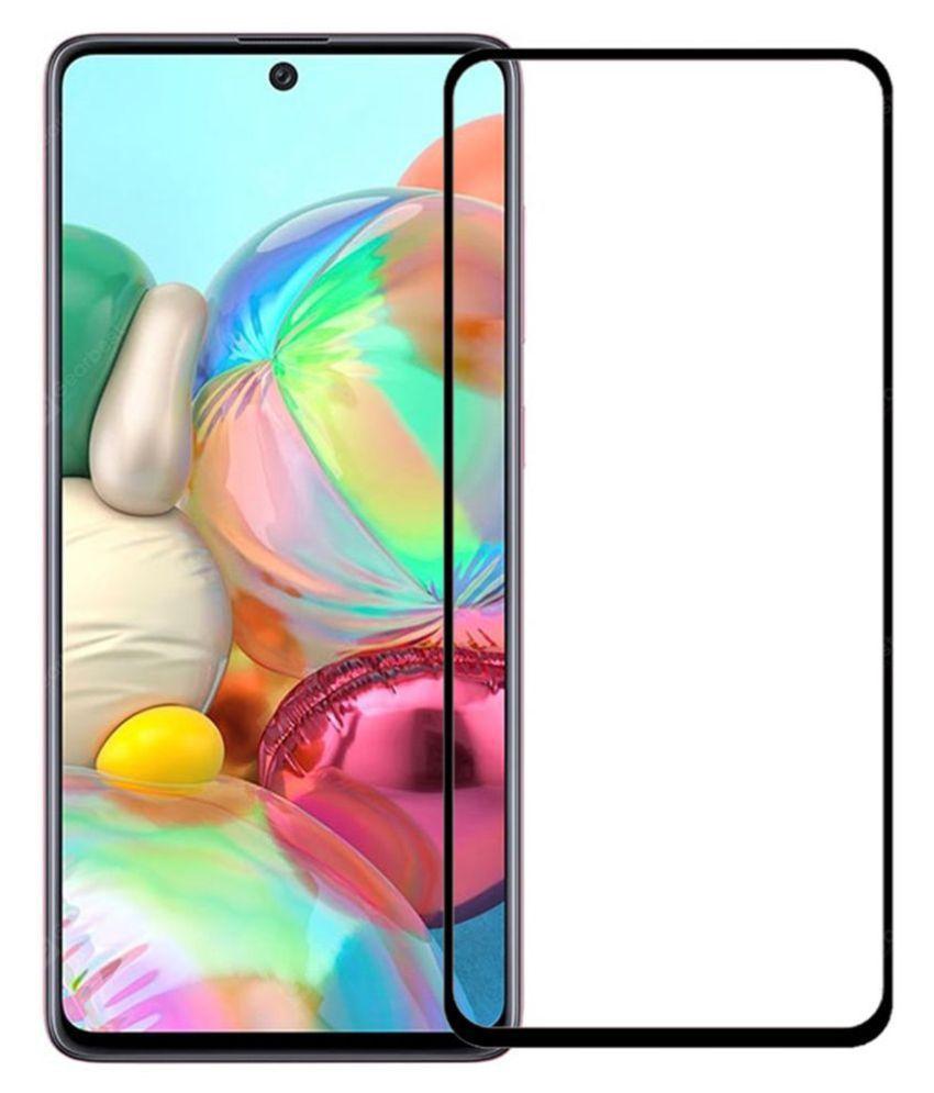 Samsung Galaxy A51 Tempered Glass Screen Guard By VE  - 6D TEMPERED GLASS SCREEN PROTECTOR