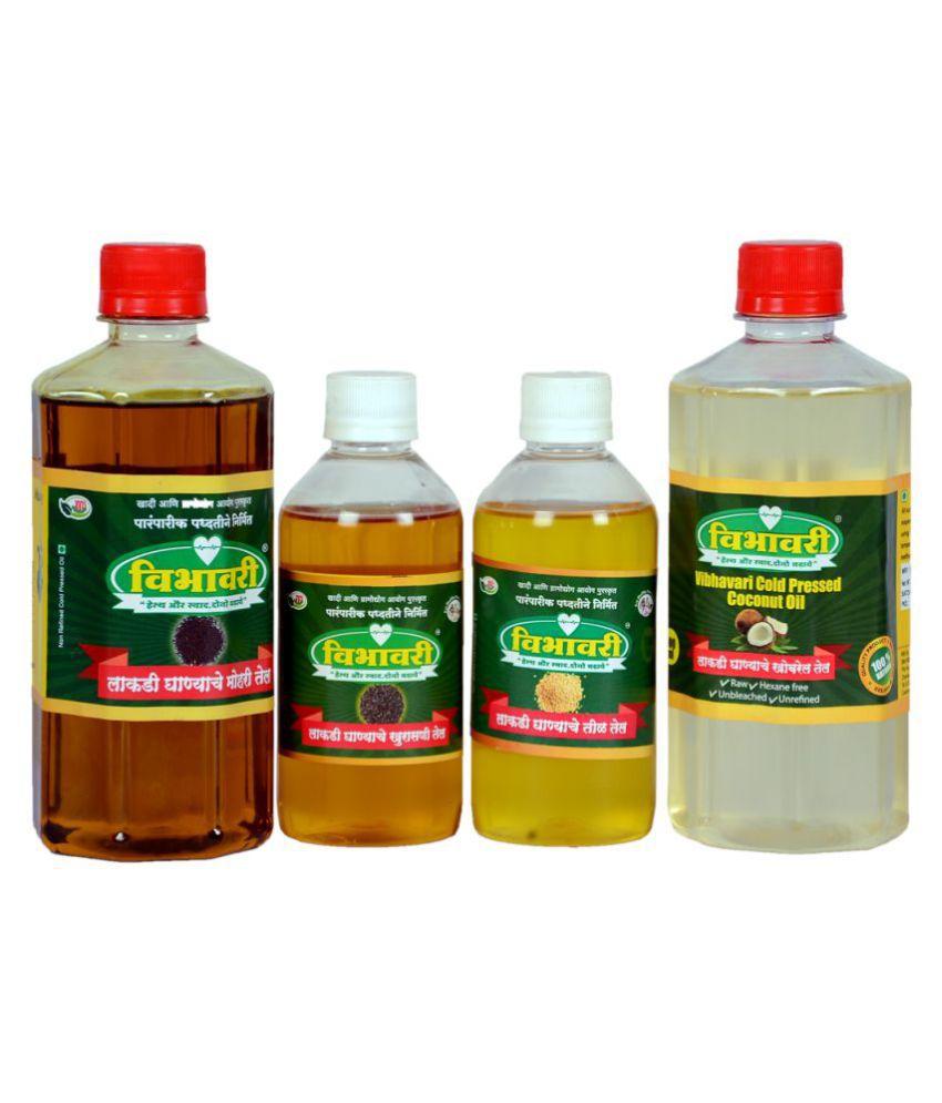 Vibhavari Seed oil 900 mL Pack of 4