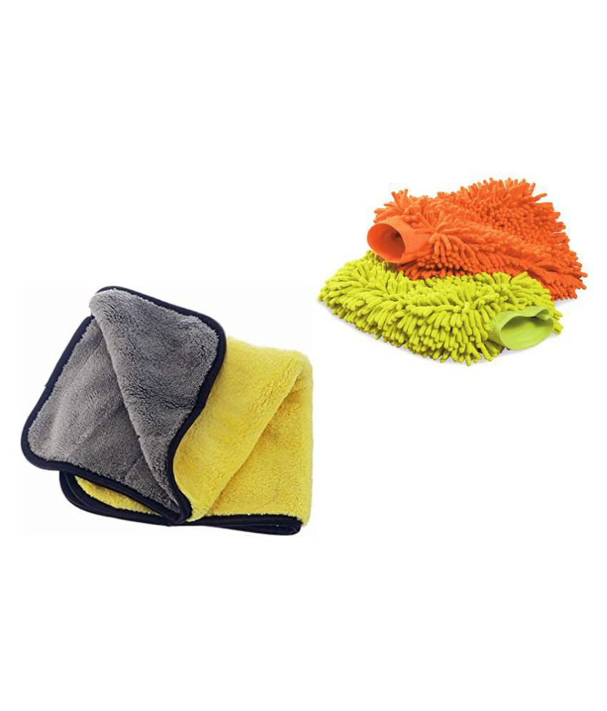 Microfibre cleaning cloth for Home, Kitchen Cleaning Microfiber Dusting Cleaning Glove for Home,Office,Kitchen,Hotel,home cleaning combo set