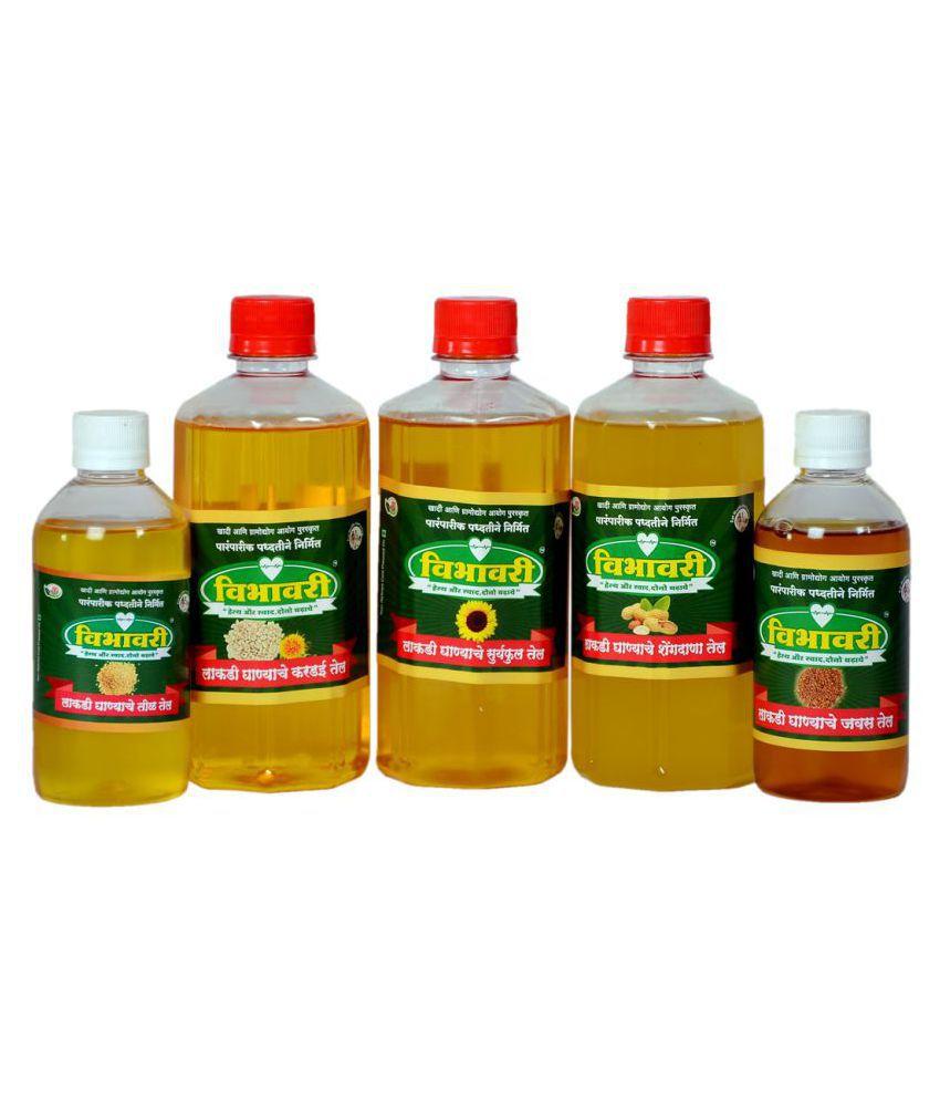 Vibhavari Seed oil 2 L Pack of 5