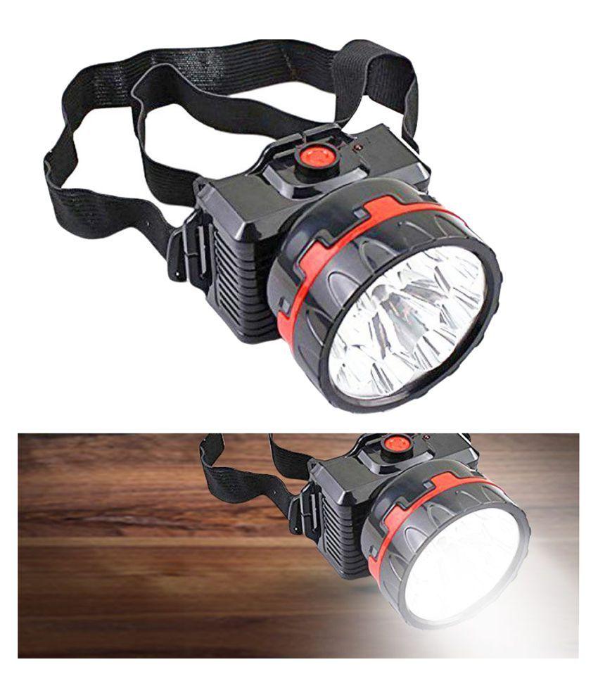Stylopunk 5W Flashlight Torch Achat LED Head lamp - Pack of 1