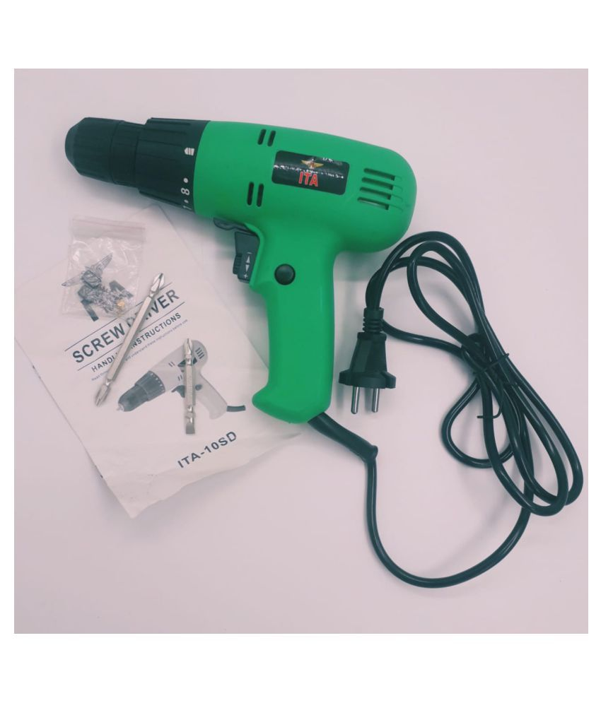 ALKAMIX.RO - BMED-01 100 % COPPER COIL, HEAVY DUTY, LONG LIFE ELECTRIC SCREW DRIVER MACHINE