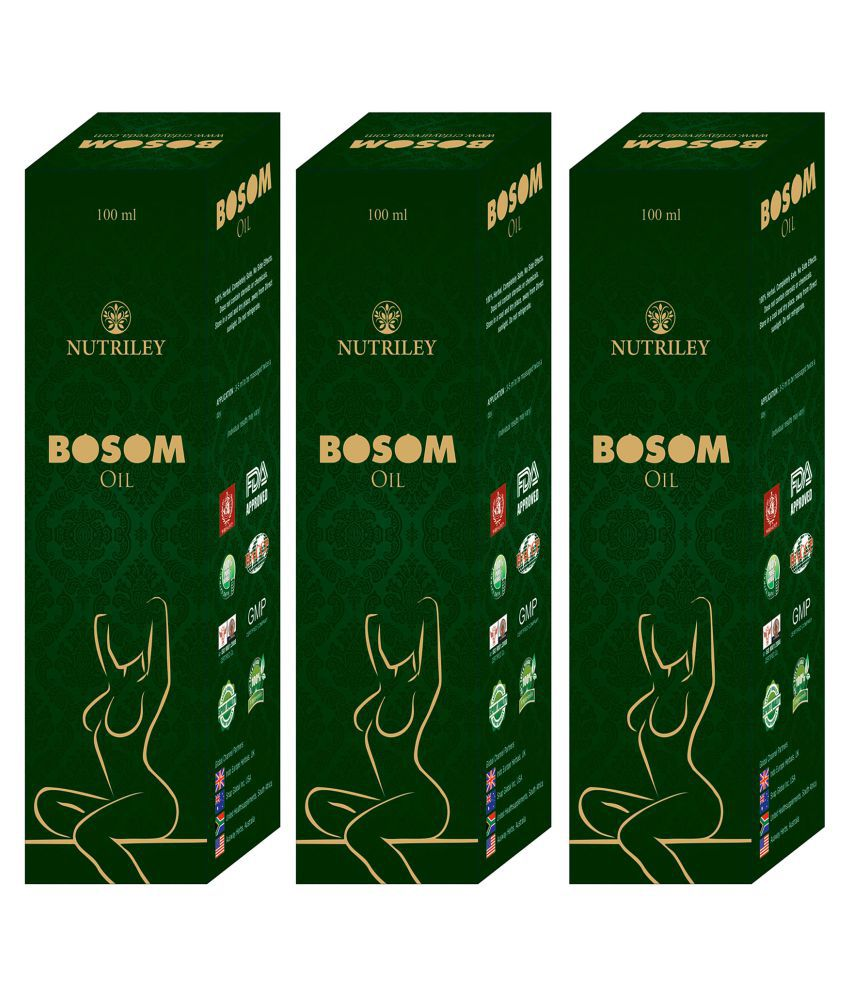 Bosom Breast Tighten Oil for Women (100 ML x 3)