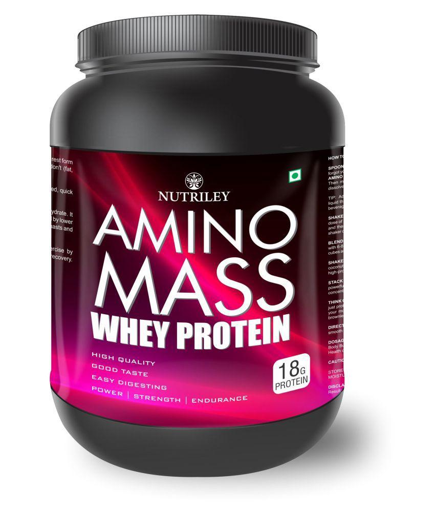CRD Ayurveda Amino Mass-Whey Protein (1 KG)-Chocolate 1 gm