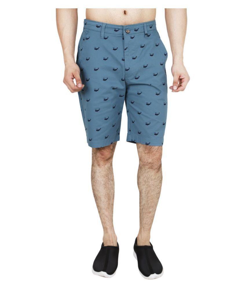 HUDSON & BARROW Blue Shorts