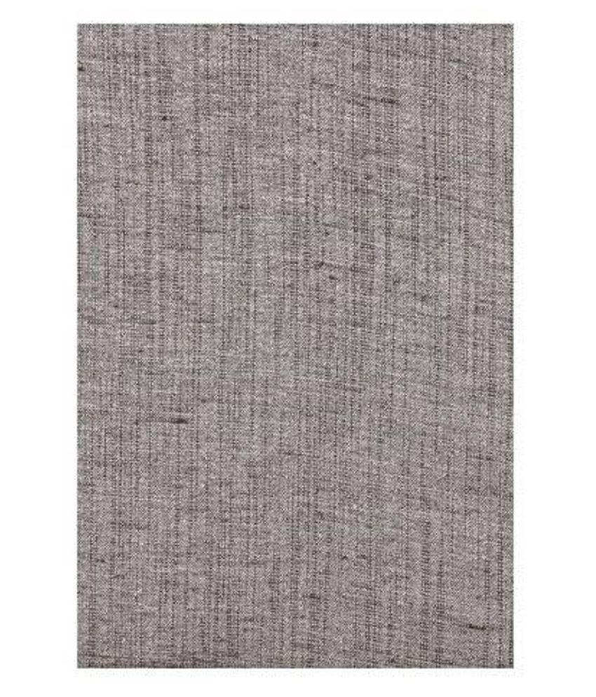 Dearman Gwalior Suitings Grey Cotton Blend Unstitched Pant Pc