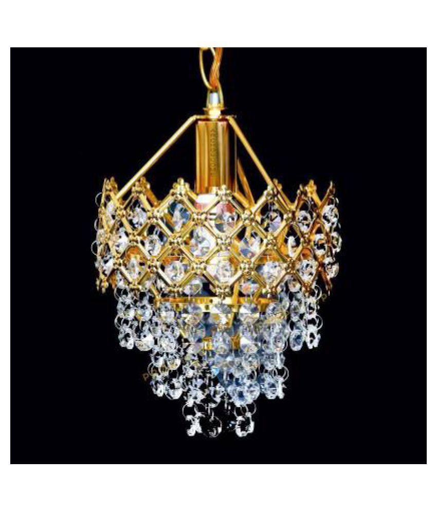 Rajat Handicraft Glass Pendant Gold - Pack of 1
