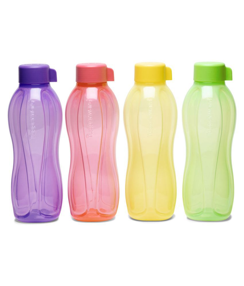 Tupperware Multicolour 500 mL Polyproplene Fridge Bottle set of 4