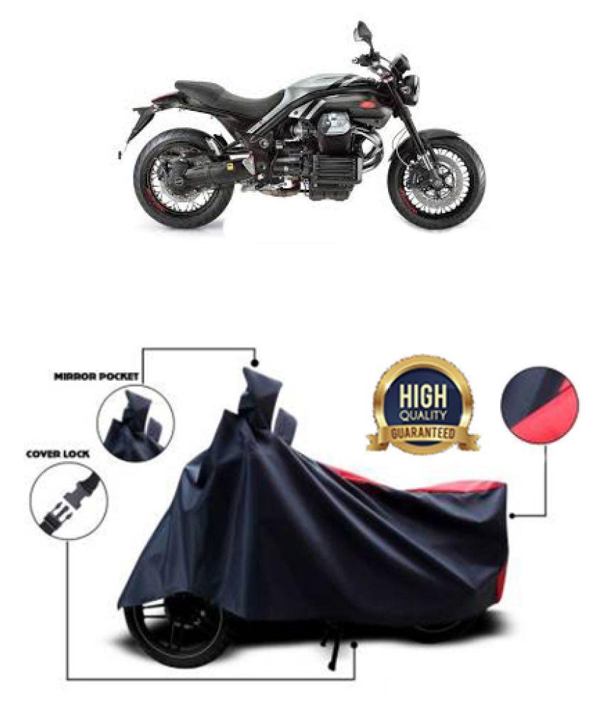 Motohunk two wheeler cover for Moto Guzzi Griso (Red, Black)
