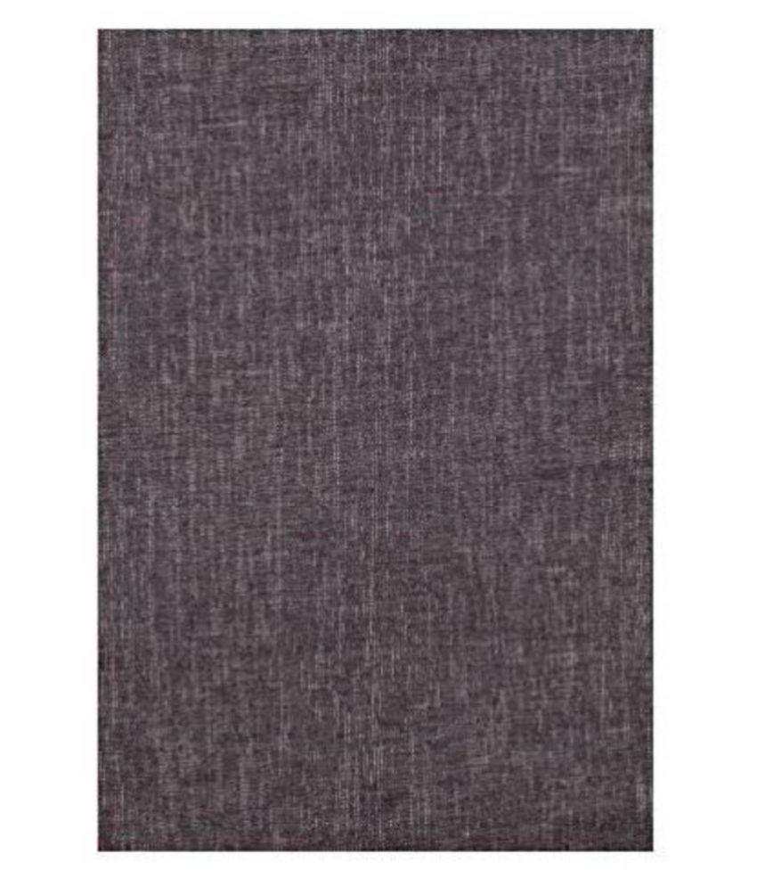 Dearman Gwalior Suitings Black Cotton Blend Unstitched Pant Pc