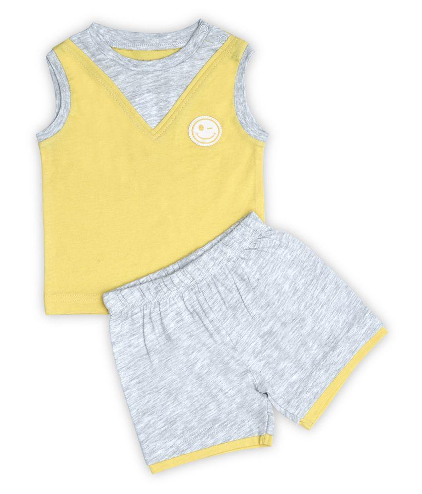 Milou Little Heaven T Shirt & Shorts Boy 3-6m