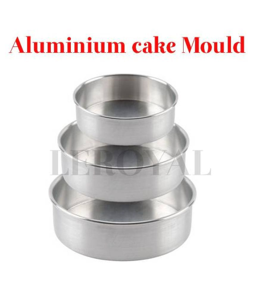 LEROYAL Aluminium Cake tin 1000 mL