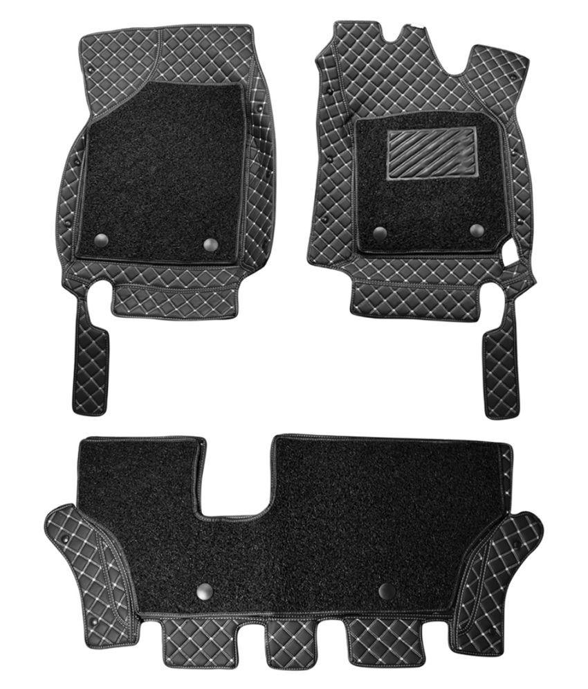 WIINE Leatherite 7D Car Mats For Nissan Teana 2012 (Grey)